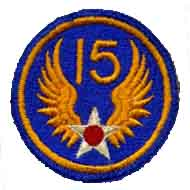 15th Army Air Corps Patch