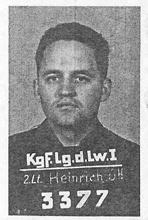 Lt. Orrin Heinrich- navigator 8th Air Force in WWII
