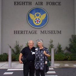 Entrance to 8th Air Force Heritage museum in Savannah, GA.