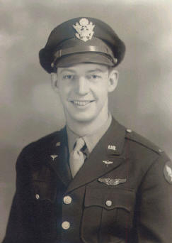 Lt. Randy Anderson - 8th Air Force Navigator during World War II