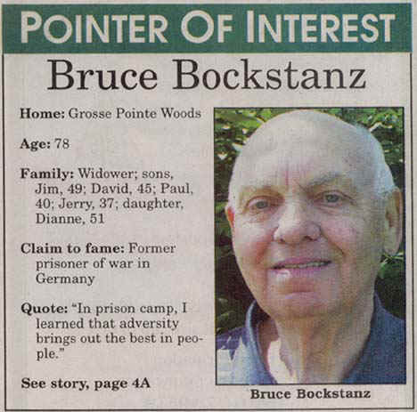 Bruce Bockstanz - Grosse Pointer of Interest