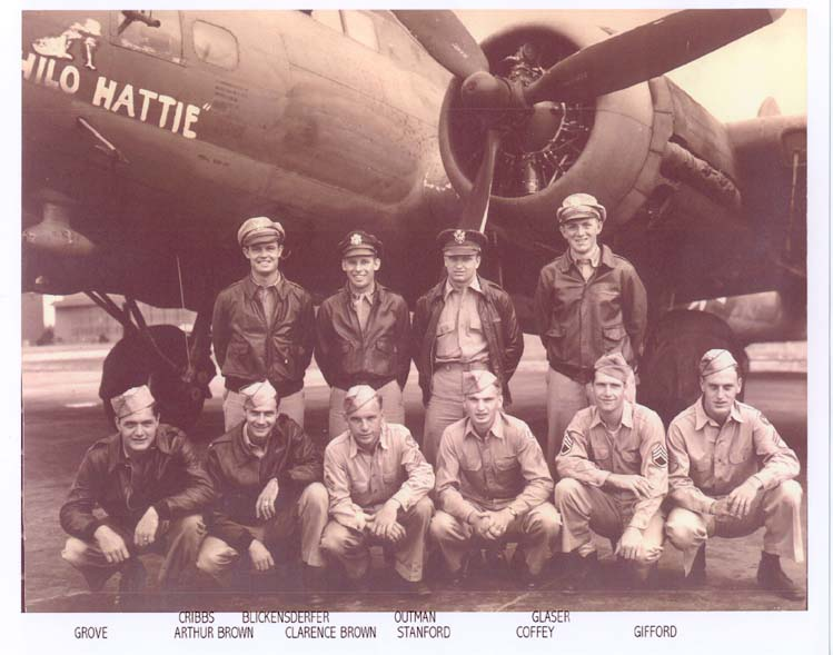Bob Outman's Army Air Corps Combat Crew