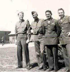 Jim Strafford and Zimmer crew at Drew Field - 1944