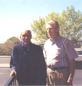 Mike Encinias and Melvin Spencer in 2003