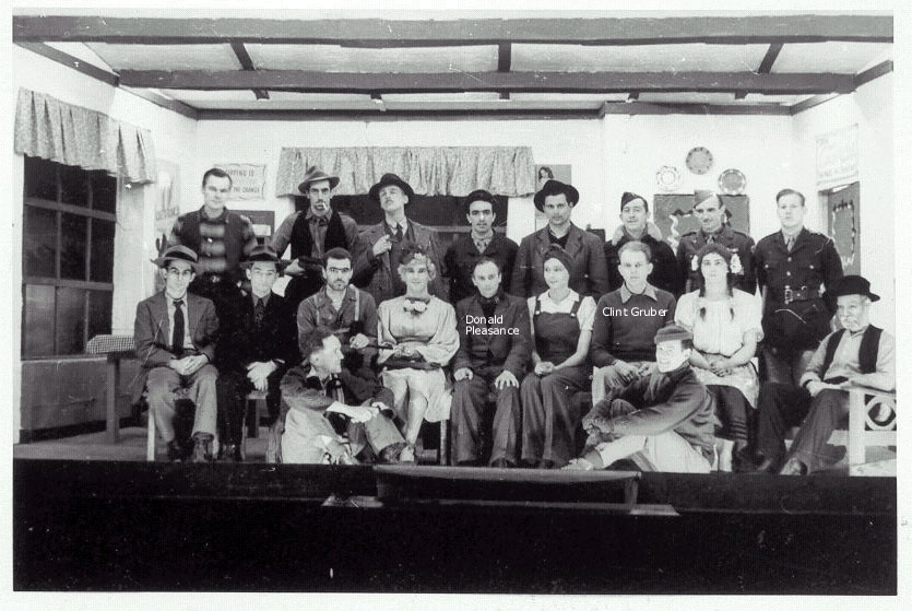 The cast of The Petrified Forest