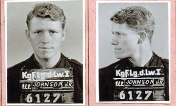 Lt. John R. Johnson - POW photo