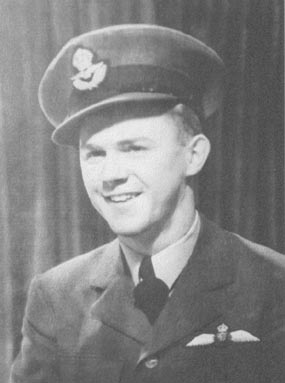 Flying Officer Ken Blyth of the RCAF