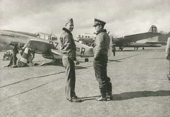 Luther Richmond and William Chamberlain - World War II