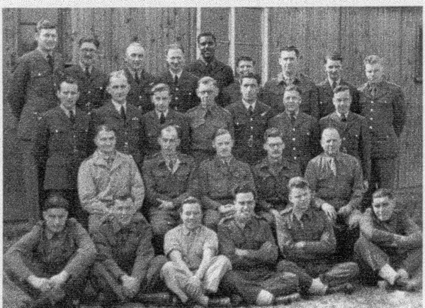 Medical staff and volunteers in 1945