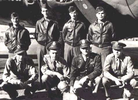 Orvil Castle crew - World War II