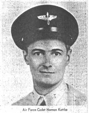 Lt. Norman Kottke - WWII Bombardier - 8th Air Force