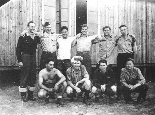 North 2, Block 4, Room 12 prisoner of war at Stalag Luft I