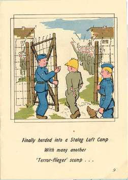 Roger Wilco comic book at Stalag Luft I