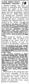 newspaper article about Phern Stout