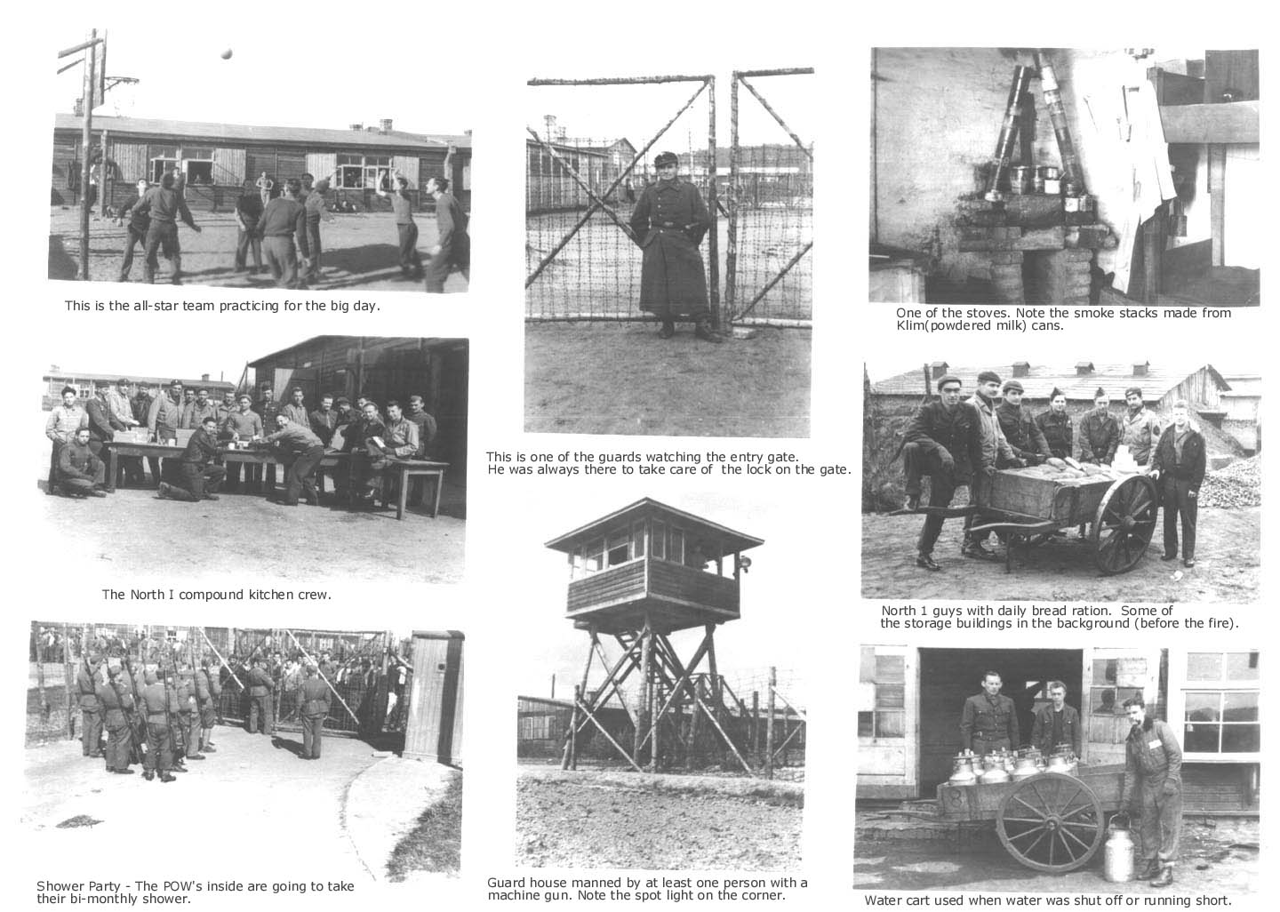 WWII German POW camp photos - Plate 3 - Stalag Luft I