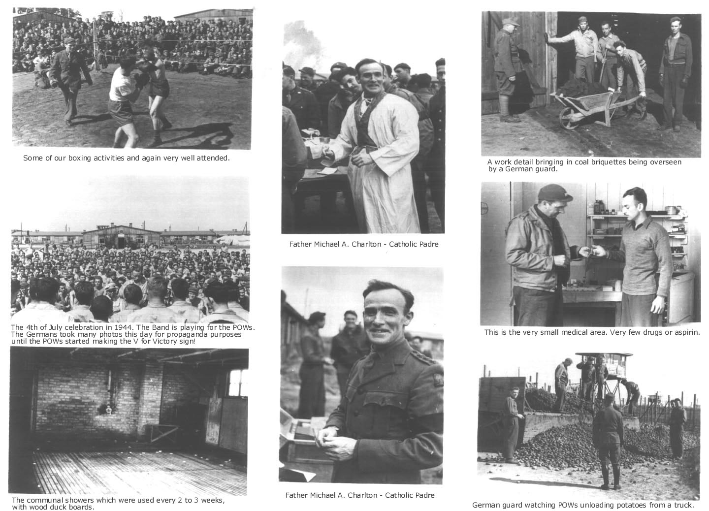 WWII German POW camp photos - Plate 6 - Stalag Luft I