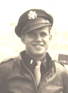 Lt. Robert Ahrens - World War II B-24 co-pilot