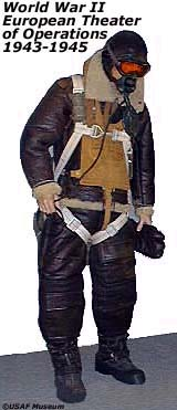 WWII Bomber crew uniform 1943-1945