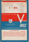 Package of V-mail letters