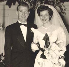 Dick and Peggy Williams - Wedding Day - March 3, 1949
